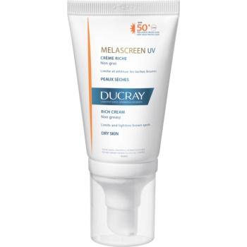 Ducray Melascreen crema solara pentru tratarea petelor pigmentare SPF 50+