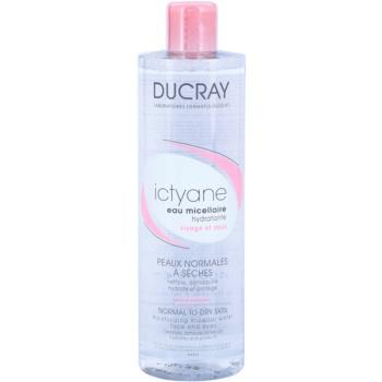 Ducray Ictyane agua micelar hidratante para pieles normales y secas