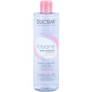Ducray Ictyane apa micelara hidratanta pentru ten normal spre uscat