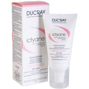 Ducray Ictyane hydratační a ochranný krém SPF 15 1