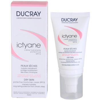 Ducray Ictyane hydratační a ochranný krém SPF 15 2