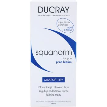 Ducray Squanorm šampon proti mastným lupům 2