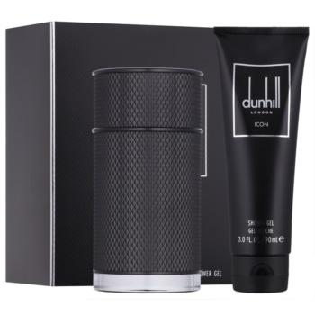 Dunhill Icon Elite set cadou I.  Gel de dus 90 ml + Eau de Parfum 100 ml