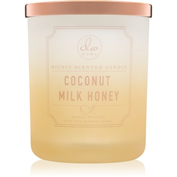 dw home coconut milk honey lumanari parfumate 427 g