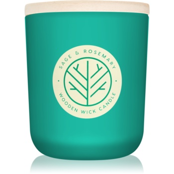 DW Home Sage & Rosemary lumanari parfumate 320,49 g cu fitil din lemn