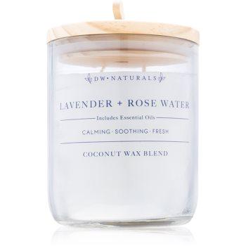 DW Home Lavender + Rose Water lumanari parfumate 500,94 g