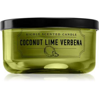 DW Home Coconut Lime Verbena lumânare parfumată