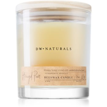 DW Home Beeswax Honeyed Pear lumânare parfumată