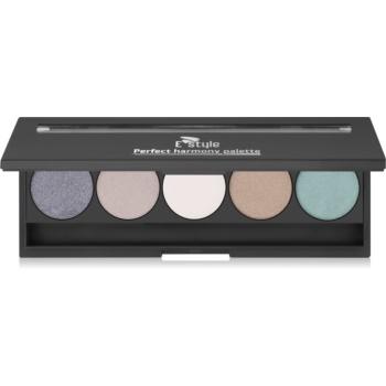 E style Perfect Harmony Palette paleta očních stínů se zrcátkem odstín 08 Posh 9,5 g