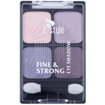 E style Fine & Strong sombras com aplicador 1