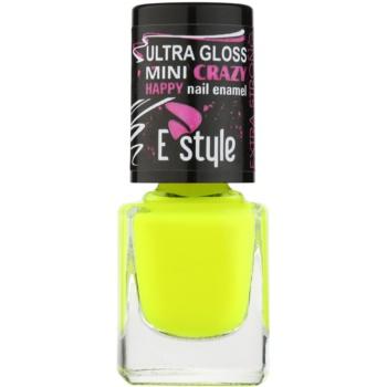 E style Mini Crazy Culoare neon pentru unghii artificiale