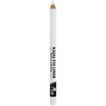 E style Soft & Lasting creion kohl pentru ochi culoare 01 White 1,6 g