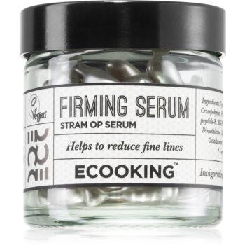 Ecooking Eco Ser facial pentru fermitate în capsule