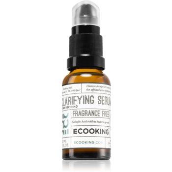 Ecooking Eco ser facial impotriva imperfectiunilor pielii cauzate de acnee poza noua