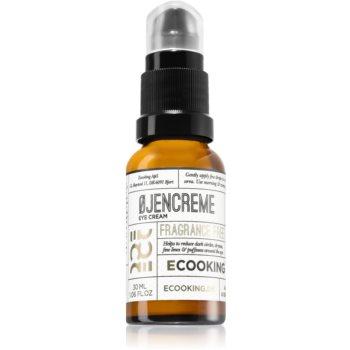 Ecooking Eco cremă de ochi anti-inflamatoare care reduce cercurile de umflare și întunecate