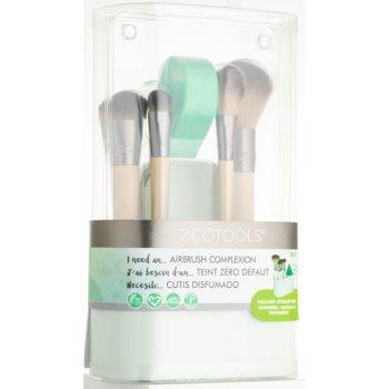 EcoTools Airbrush Complexion Pinselset (für das Gesicht)