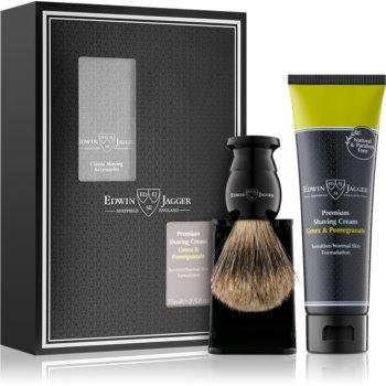 Edwin Jagger Limes & Pomegranate set de bărbierit I. (pentru piele sensibilă) pentru bărbați
