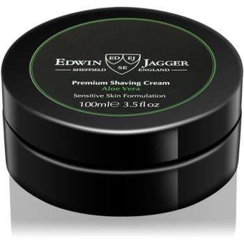 EDWIN JAGGER Aloe Vera crema de barbierit pentru piele sensibila