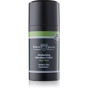 EDWIN JAGGER Aloe Vera balsam aftershave pentru piele sensibila