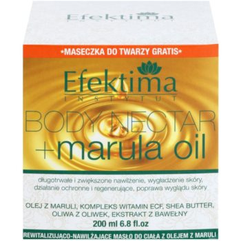 Efektima Institut Body Nectar revitalisierende Body-Butter für sanfte und weiche Haut 3