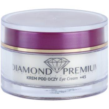 Efektima Institut Diamond Premium +45 крем проти зморшок для шкіри навколо очей проти набряків та темних кіл