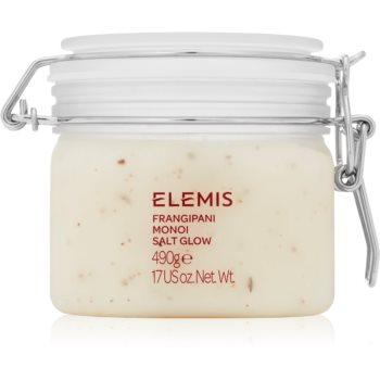 Elemis Body Exotics Frangipani Monoi Salt Glow exfoliator de corp mineral poza