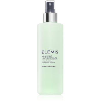 Elemis Advanced Skincare Balancing Lavender Toner tonic pentru curatare pentru ten mixt