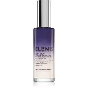 Elemis Peptide⁴ Night Recovery Cream-Oil cremă-ulei de noapte, cu efect de reînnoire poza noua