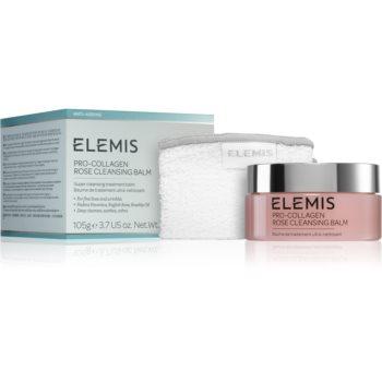 Elemis Pro-Collagen Rose Cleansing Balm balsam de curatare pentru netezirea pielii
