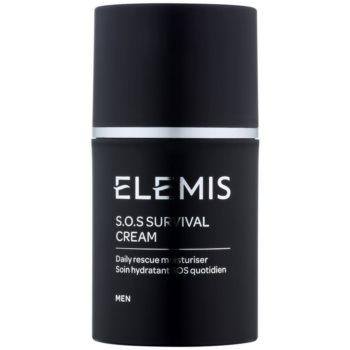 Elemis Men crema hidratanta de zi cu protectie solara pentru piele sensibila si iritabila  50 ml
