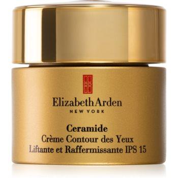Elizabeth Arden Ceramide Lift and Firm Eye Cream crema cu efect lifting pentru ochi SPF 15 poza noua