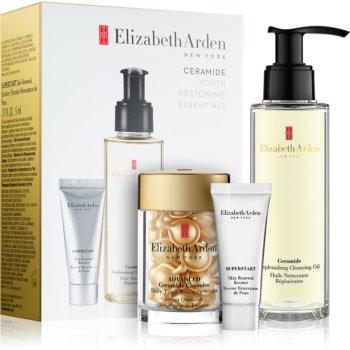 Elizabeth Arden Ceramide Replenshing Cleansing Oil set cosmetice I. (antirid)