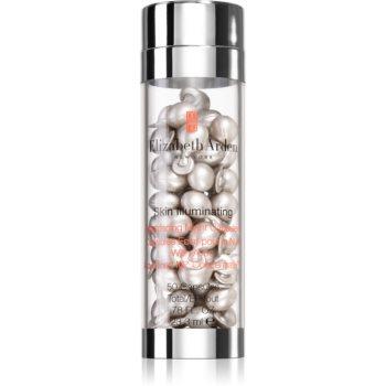Elizabeth Arden Skin Illuminating Brightening Night Capsules ser de noapte cu efect radiant în capsule