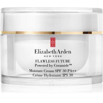 Elizabeth Arden Flawless Future Moisture Cream cremă hidratantă cu ceramide SPF 30 poza noua