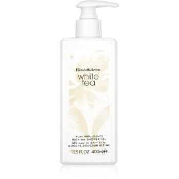 Elizabeth Arden White Tea Pure Indulgence Bath and Shower Gel gel de dus pentru femei 400 ml