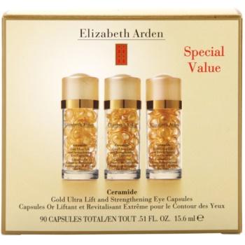 Elizabeth Arden Ceramide ліфтинговий догляд в капсулах для шкріри навколо очей 3