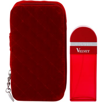 Elizabeth Arden Red Door Velvet Eau de Parfum für Damen   + Travel Jewelry Case