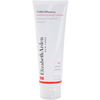 Elizabeth Arden Visible Difference crema limpiadora suave para pieles secas