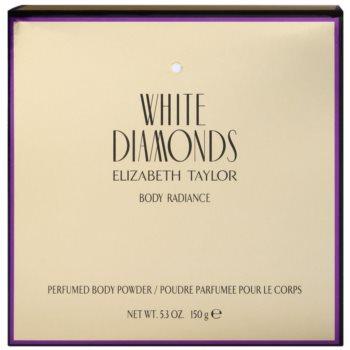 Elizabeth Taylor White Diamonds pudra de  corp pentru femei 1