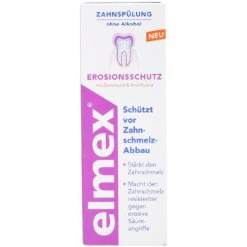 Elmex Erosion Protection płyn do płukania jamy ustnej chroniący szkliwo 3
