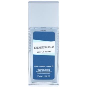 Enrique Iglesias Deeply Yours дезодорант з пульверизатором для чоловіків