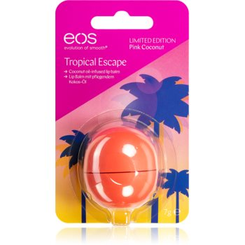EOS Tropical Escape Pink Coconut бальзам для губ 7 гр
