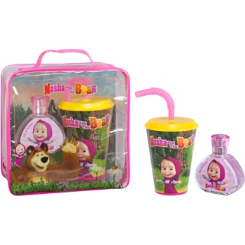 EP Line Masha and The Bear set cadou IV.  Apa de Toaleta 50 ml + cana 1 ks