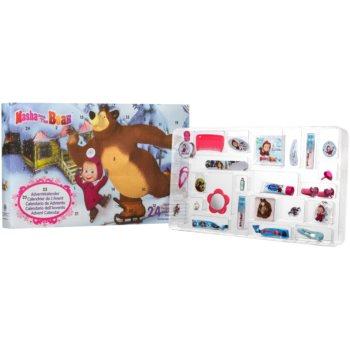 EP Line Masha and The Bear Calendar de Crăciun pentru copii