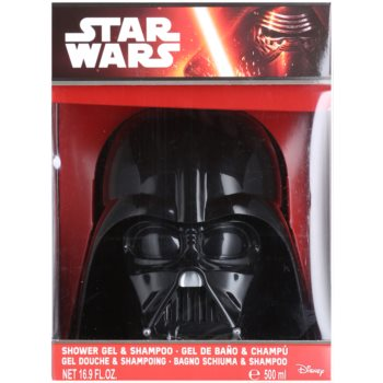 EP Line Star Wars 3D Darth Vader tusfürdő gél és sampon 2 in 1 1