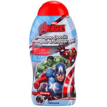 EP Line Avengers šampon in gel za prhanje 2v1