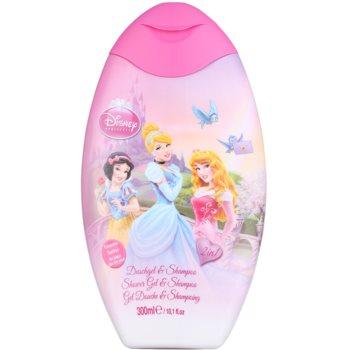 EP Line Disney hercegnők Disney Princess tusfürdő gél és sampon 2 in 1