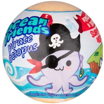 EP Line Ocean Friends bile efervescente pentru baie cu figurinã imagine produs