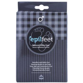 Epilfeet Men feuchtigkeitsspendende Peeling-Socken für zartere Fußsohlen