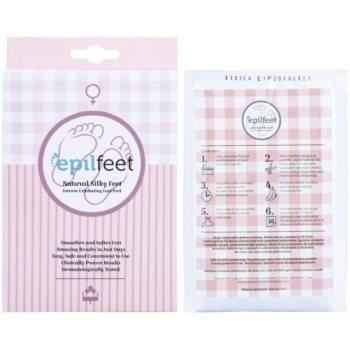 Epilfeet Women eksfoliacijske nogavice za mehčanje in vlaženje kože stopal 2